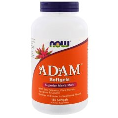 Адам (Now Foods, ADAM, Superior Men's Multi), 180 мягких капсул