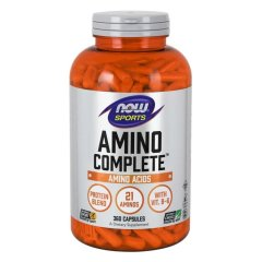 Амино Комплит (Now Foods, Amino Complete), 360 капсул