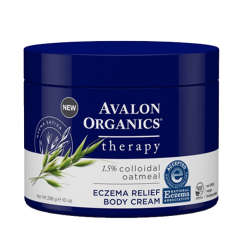 Крем для тела при экземе (Avalon Organics, Eczema Relief with Colloidal Oatmeal Body Cream,), 296 мл