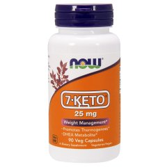 7-KETO – ДГЭА (Now Foods, 7-KETO) 25 мг, 90 капсул