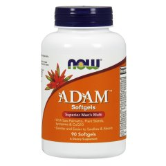 Адам (Now Foods, ADAM, Superior Men's Multi), 90 мягких капсул