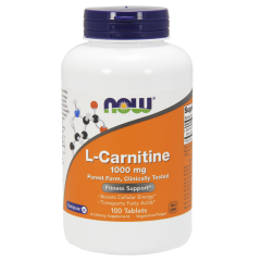 L-Карнитин (Now Foods, L-Carnitine) 1000мг, 100 таблеток