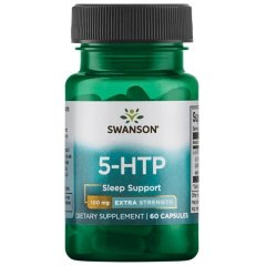 5-HTP Экстра сила (Swanson, 5-HTP - Extra Strength), 100 мг, 60 капсул
