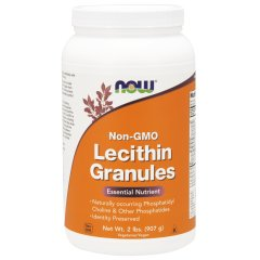 Лецитин в гранулах (Now Foods, Lecithin Granules), 907 гр