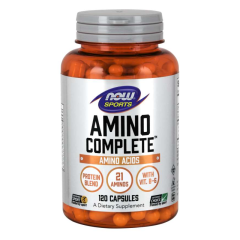 Амино Комплит (Now Foods, Amino Complete), 120 капсул