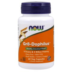 Gr8-Дофилус (Now Foods, Gr8-Dophilus), 60 капсул