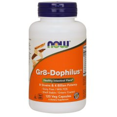 Gr8-Дофилус (Now Foods, Gr8-Dophilus), 120 капсул